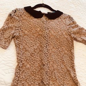 Zara lace top size s